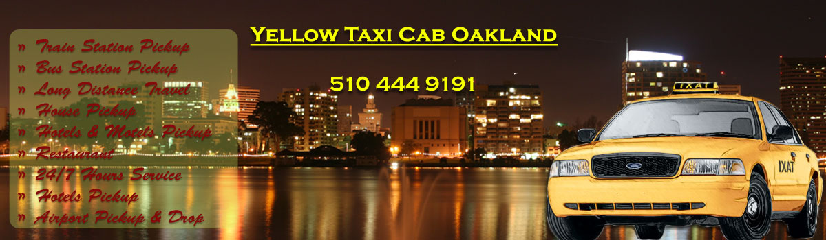 Yellow Taxi Cab Oakland